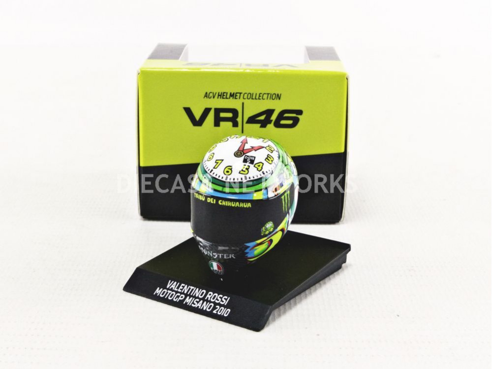 AGV CASQUE MOTO GP MISANO CLOCK ARTWORK 2010