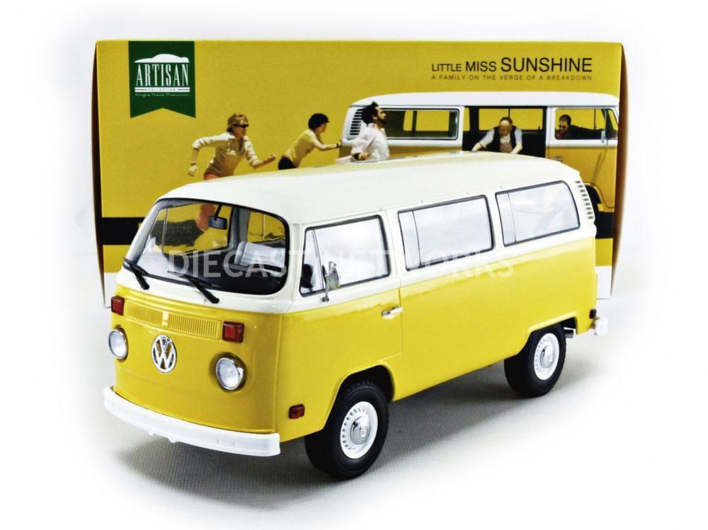 Greenlight 1:24 Little Miss Sunshine 1978 Volkswagen Type 2 Bus 84081 Diecast