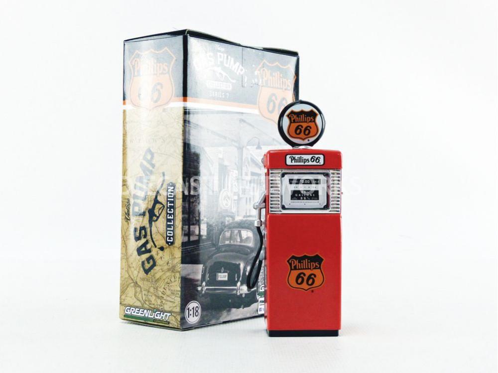 POMPE à ESSENCE WAYNE 505 GAS PUMP PHILLIPS 66 ETHYL