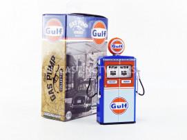 POMPE à ESSENCE TOKHEIM 350 TWIN GAS PUMP GULF OIL - VINTAGE