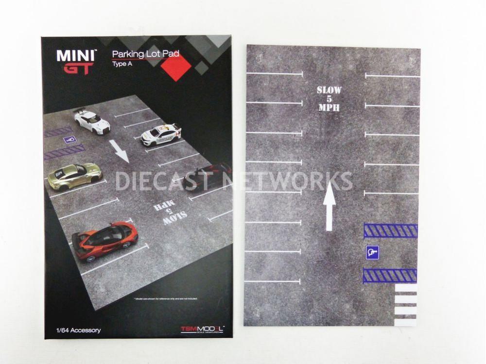 ACCESSOIRES TAPIS DE PARKING MINI - GT TYPE A 40 X 25 CM