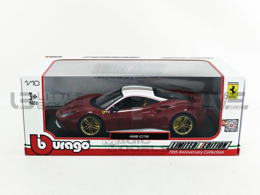 Ferrari 488 Gtb 70 Ans Ferrari Do Lauda 2016-76105 Bburago 1//18
