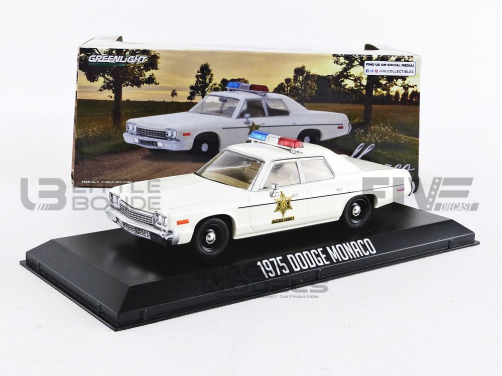 DODGE MONACO - HAZZARD COUNTY SHERIFF 1975