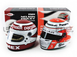 CASQUES PIQUET SENIOR F1 1981 - JUNIOR FE 2019