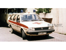 VOLKSWAGEN PASSAT VARIANT - AMBULANCE ALLEMANDE 1980