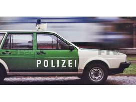 VOLKSWAGEN PASSAT VARIANT - POLICE ALLEMANDE 1980