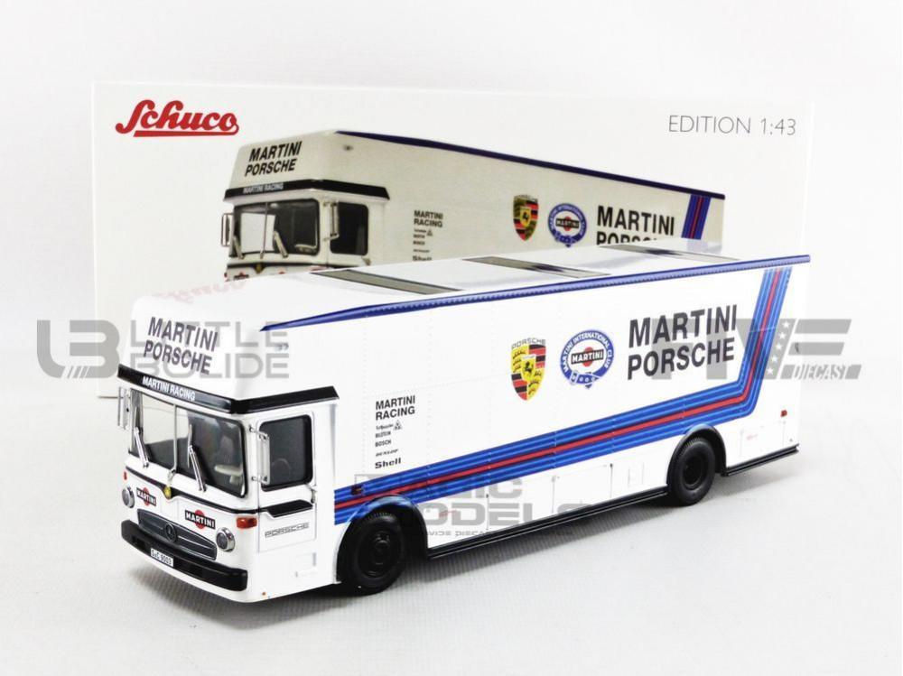 MERCEDES-BENZ TRANSPORTEUR O317 - PORSCHE MARTINI