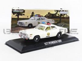 PLYMOUTH FURY - HAZZARD COUNTY SHERIFF 1977