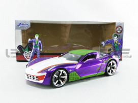 CHEVROLET CORVETTE STINGRAY + JOKER FIGURE - 2009