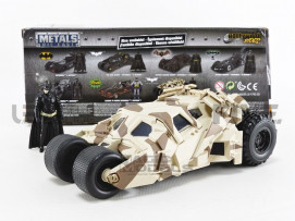 BATMOBILE BATMAN THE DARK KNIGHT CAMOUFLAGE FIGURINE - 2008