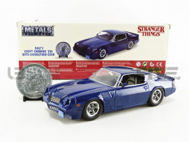 CHEVROLET CAMARO Z28 + COIN - STRANGER THINGS 1979