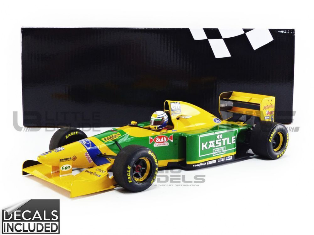 BENETTON FORD B193 - ANGLETERRE GP 1993