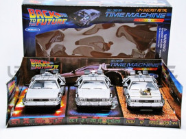 DE LOREAN COFFRET - BACK TO THE FUTUR I, II, III