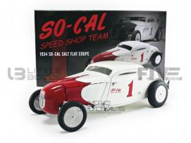 SO-CAL SPEED SHOP TEAM 1 - SALT FLAT COUPE - 1934