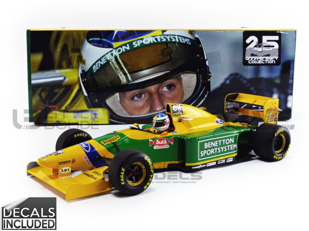 BENETTON FORD B193B - GP SAN MARINO 1993