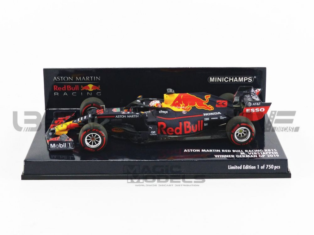 ASTON MARTIN RED BULL RACING - WINNER GERMAN GP 2019