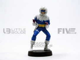 DC COMICS CAPTAIN COLD - SUR SOCLE