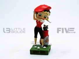 FIGURINES BETTY BOOP - GOLFEUSE