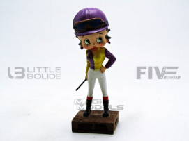 FIGURINES BETTY BOOP - JOCKEY
