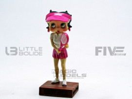FIGURINES BETTY BOOP - JOUEUSE DE TENNIS