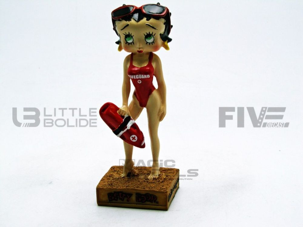 FIGURINES BETTY BOOP - MAITRE NAGEUR