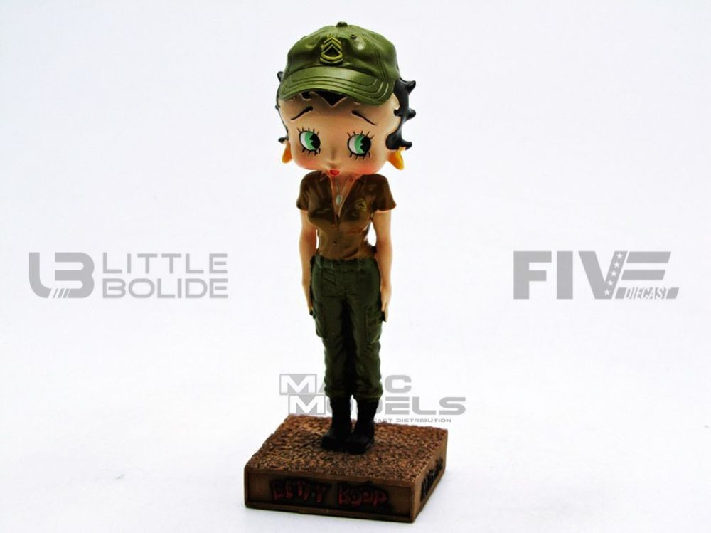 FIGURINES BETTY BOOP - MILITAIRE