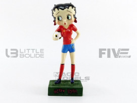FIGURINES BETTY BOOP - FOOTBALLEUSE
