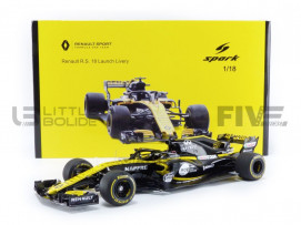 RENAULT F1 RS 18 LAUNCH VERSION 2018