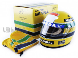 CASQUE AYRTON SENNA - MCLAREN WORLD CHAMPION 1988
