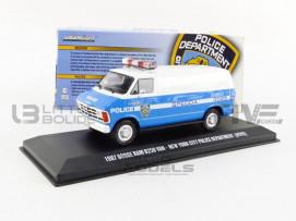 DODGE RAM B250 VAN NEW YORK CITY POLICE DEPT - 1987