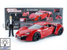 LYKAN HYPERSPORT + DOM FIGURE - FAST AND FURIOUS 7