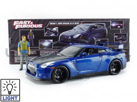 NISSAN GT-R35 + BRIAN FIGURE - 2009 - FAST AND FURIOUS 7