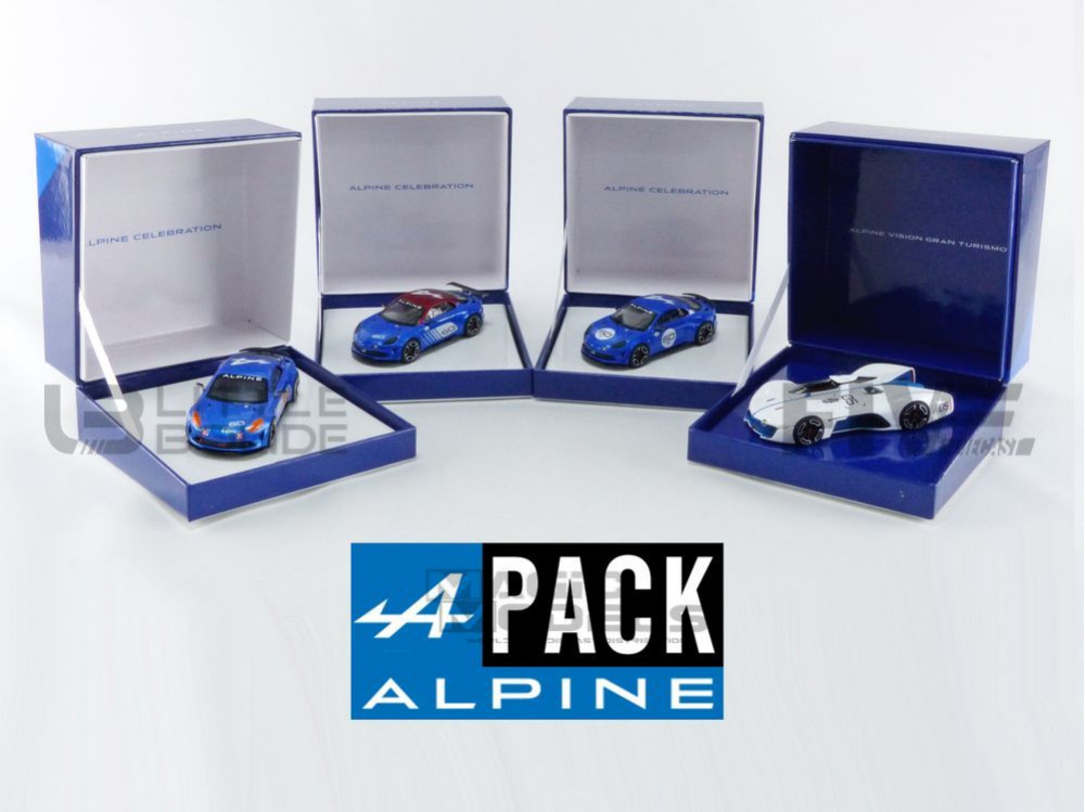 ALPINE PACK VISION GT ET A110 CELEBRATION - 2016