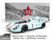 PORSCHE 917 K GULF - BRANDS HATCH 1971