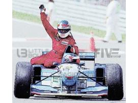 BENETTON FORD B195 - GP CANADA 1995 WITH FIGURINE ALESI