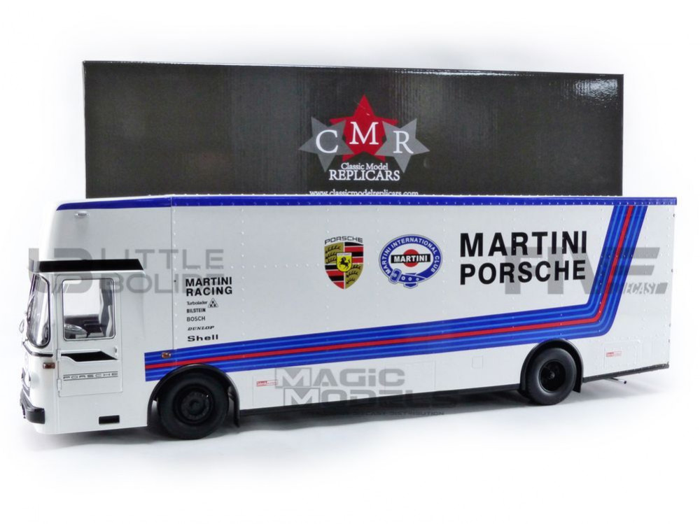 MERCEDES-BENZ TRANSPORTEUR O317 - MARTINI RACING MOTORSPORT