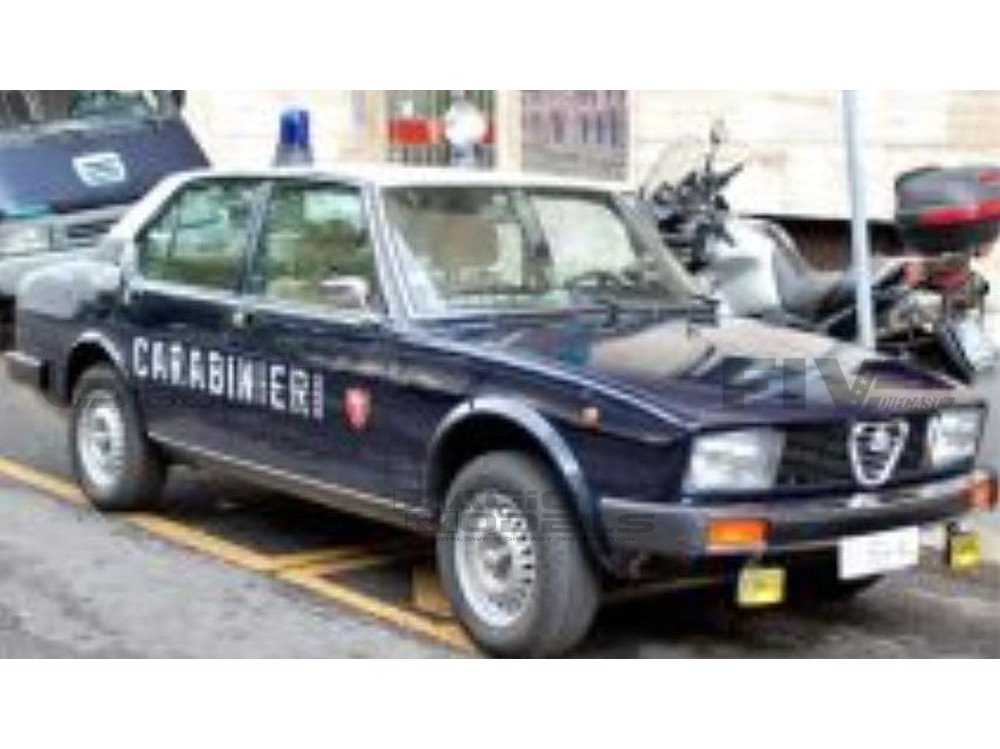 ALFA-ROMEO ALFETTA 2000 CARABINIERI POLICE - 1978