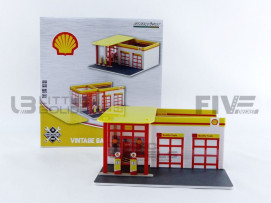 ACCESSOIRES VINTAGE GAS STATION SHELL OIL