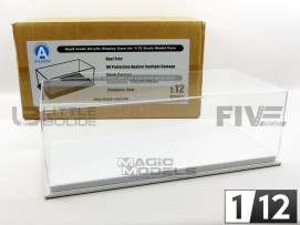 DISPLAY CASE SHOW-CASE 1/12 - MULHOUSE WHITE LEATHER