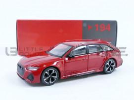 AUDI RS6 AVANT CARBON BLACK EDITION TANGO RED LHD