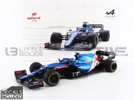 ALPINE F1 TEAM A521 - GP BAHRAIN 2021