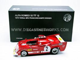 ALFA-ROMEO 33 TT 12 - WINNER 1000KMS SPA 1975
