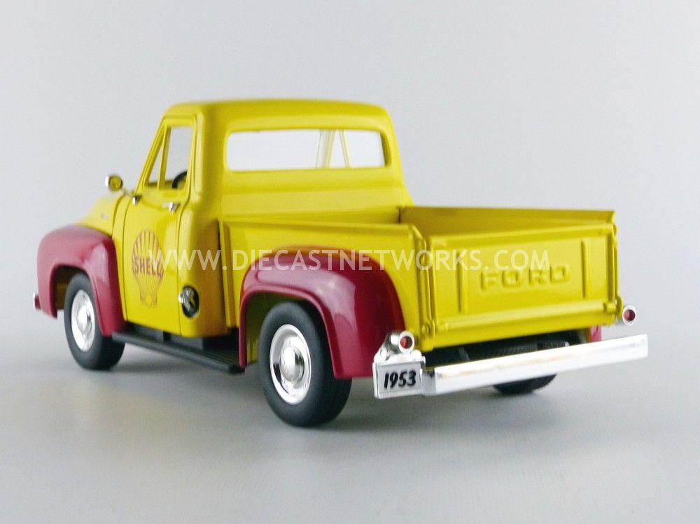 ford f100 pick up 1953 shell avec pompe a essence little bolide. Black Bedroom Furniture Sets. Home Design Ideas