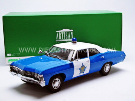 CHEVROLET BISCAYNE - CHICAGO POLICE 1967