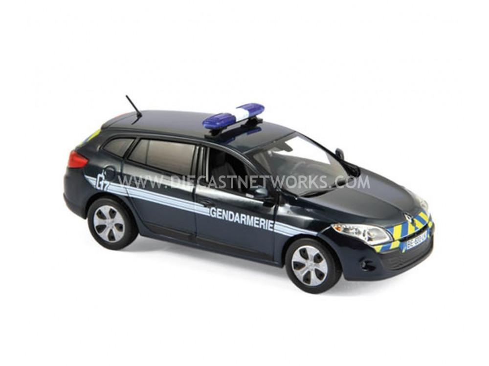 renault megane estate gendarmerie 2012 little bolide. Black Bedroom Furniture Sets. Home Design Ideas