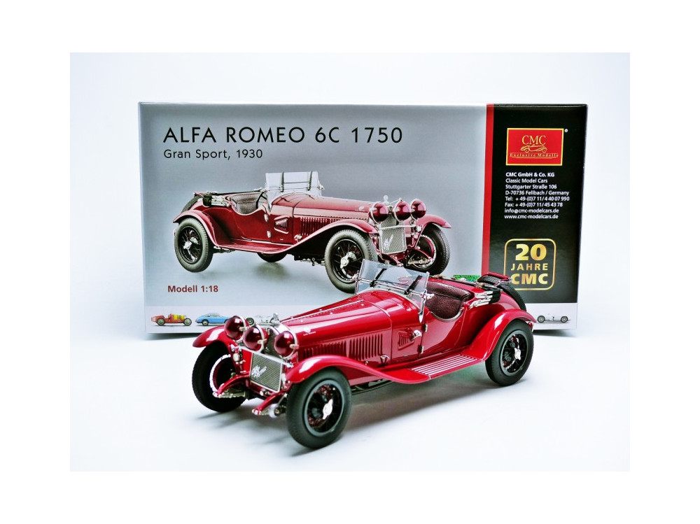 alfa romeo 6c 1750 gs 1930 little bolide. Black Bedroom Furniture Sets. Home Design Ideas