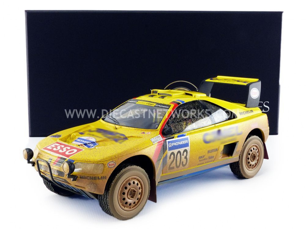 PEUGEOT 405 T16 - WINNER PARIS DAKAR 1990