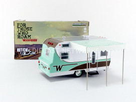 WINNEBAGO TRAVEL TRAILER - CARAVANE 1964