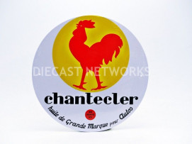 PLAQUE METAL CHANTECLER