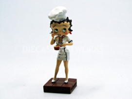 FIGURINES BETTY BOOP - CHEF CUISINIER